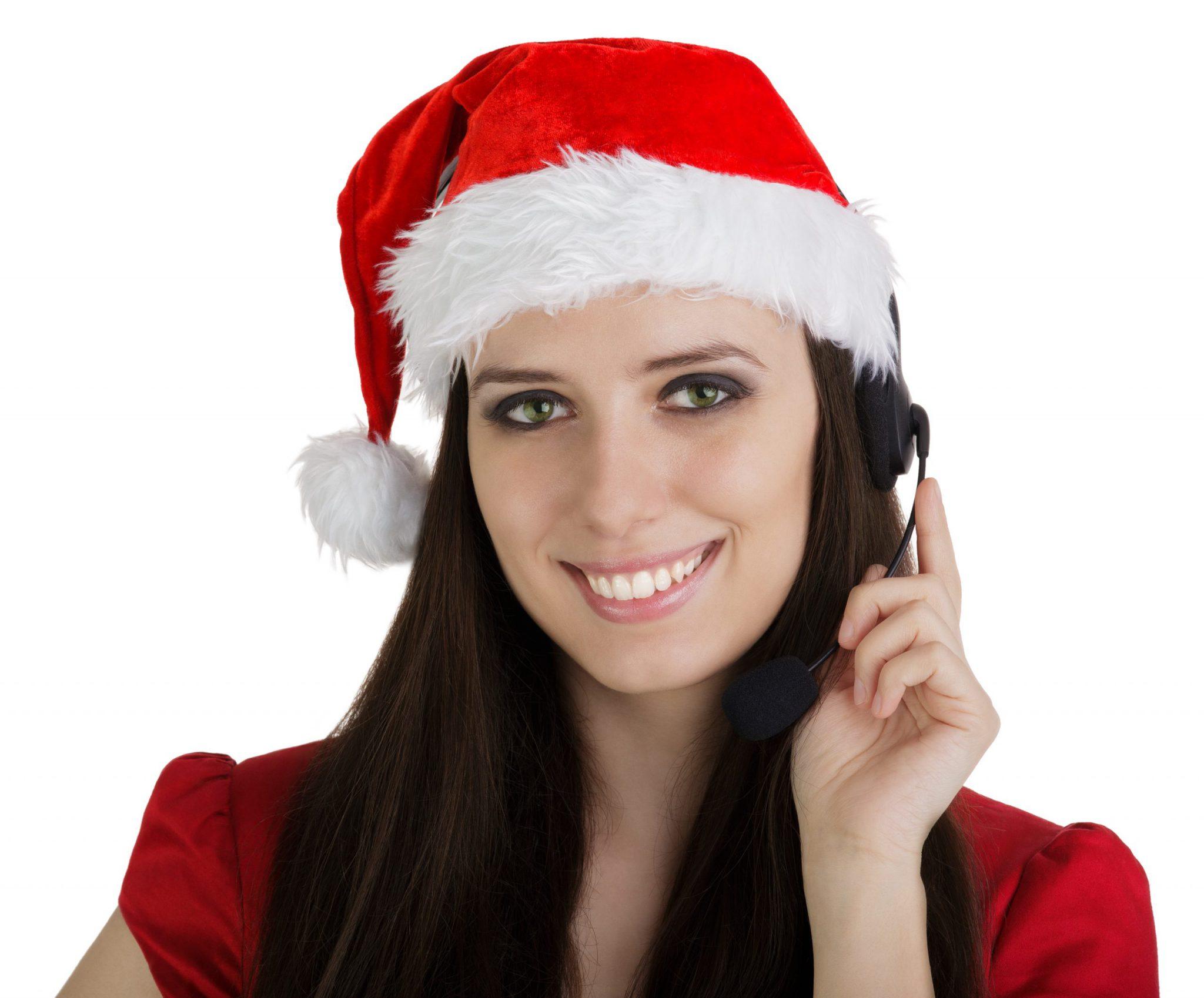 call center christmas