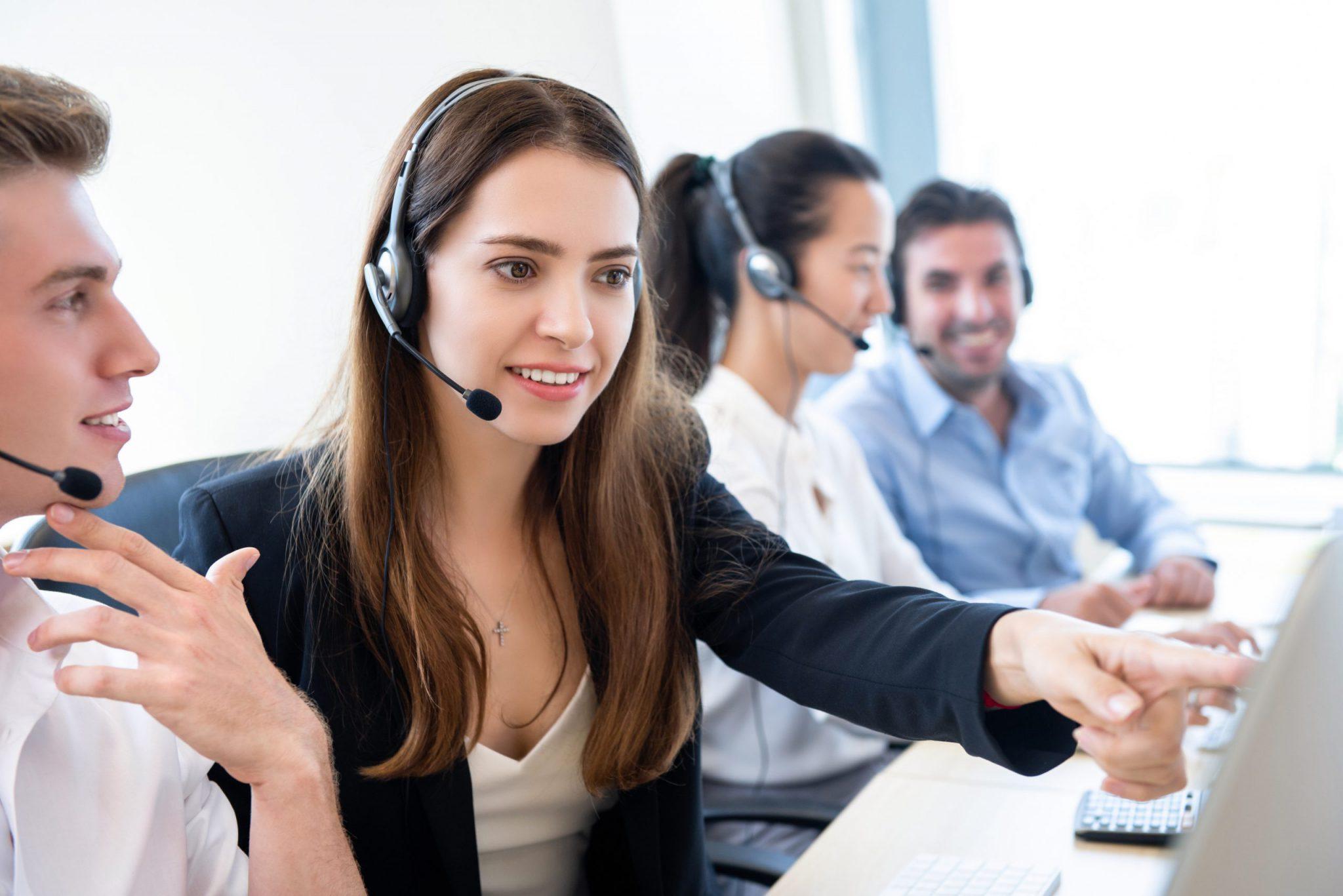 telemarketing staff