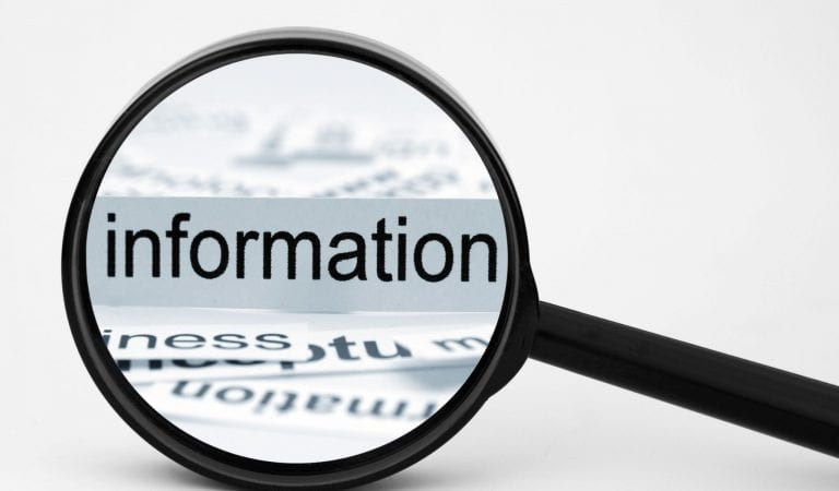 information blitz