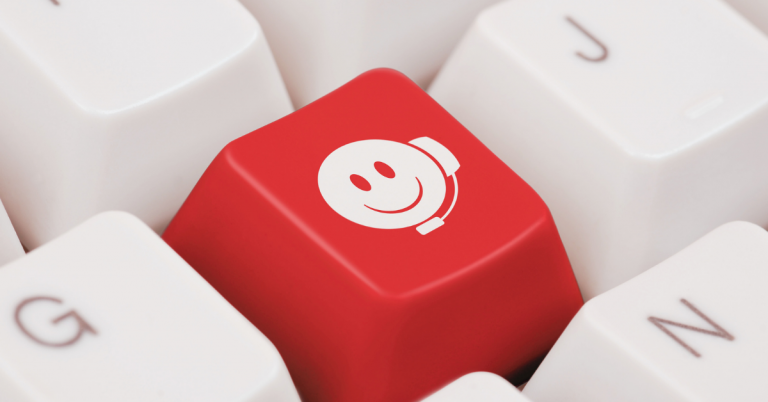 smiley face on keyboard
